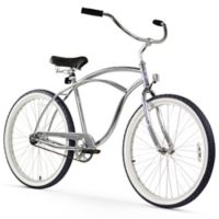 "Firmstrong Urban Man 26"" Single Speed Beach Cruiser Bicycle in Chrome"