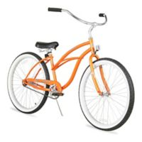 "Firmstrong Urban Lady 26"" Single Speed Beach Cruiser Bicycle in Orange"