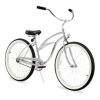 """Firmstrong Urban Lady 26"""" Single Speed Beach Cruiser Bicycle in Chrome"""