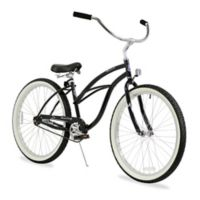 "Firmstrong Urban Lady 26"" Single Speed Beach Cruiser Bicycle in Black"