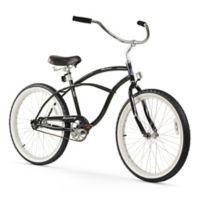 "Firmstrong Urban Man 24"" Single Speed Beach Cruiser Bicycle in Black"