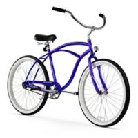 "Firmstrong Urban Man 26"" Single Speed Beach Cruiser Bicycle in Royal Blue"