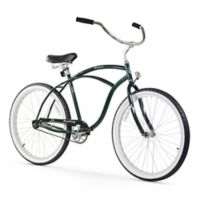 "Firmstrong Urban Man 26"" Single Speed Beach Cruiser Bicycle in Emerald Green"