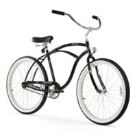 "Firmstrong Urban Man 26"" Single Speed Beach Cruiser Bicycle in Black"
