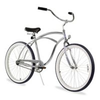 "Firmstrong Urban Man Alloy 26"" Single Speed Beach Cruiser Bicycle in Chrome"