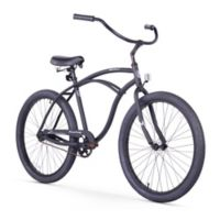 "Firmstrong Urban Man Alloy 26"" Single Speed Beach Cruiser Bicycle in Matte Black"