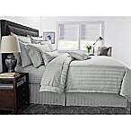 Wamsutta® 500-Thread-Count PimaCott® Damask Stripe King Comforter Set in Silver