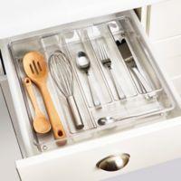 InterDesign® Linus Acrylic Expandable Cutlery Organizer