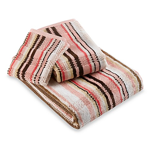 Etched Stripe Hand Towel Bed Bath Beyond