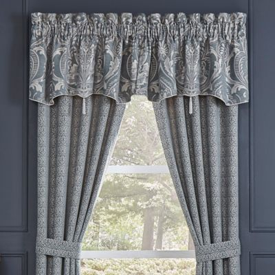 buy slate window valance from bed bath & beyond