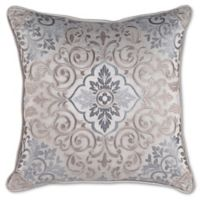 Croscill® Gabrijel Fashion Square Throw Pillow in Slate Blue