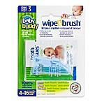Baby Buddy Wipe-N-Brush in Blue