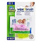Baby Buddy Wipe-N-Brush in Pink