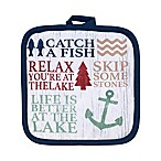 Avanti Lake Words Pot Holder
