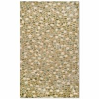 Liora Manne Spello Pebbles 7-Foot 6-Inch x 9-Foot 6-Inch Indoor/Outdoor Area Rug in Blue