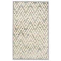 Safavieh Paradise Zig Zag 8-Foot x 11-Foot 2-Inch Area Rug in Grey