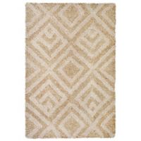 Liora Manne Wooster Kuba 2-Foot x 3-Foot Indoor/Outdoor Accent Rug in Neutral
