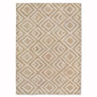 Liora Manne Wooster Kuba 5-Foot x 7-Foot 6-Inch Indoor/Outdoor Area Rug in Neutral