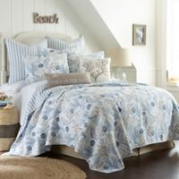 Sag Harbor Twin Reversible Quilt in Blue