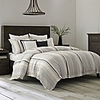Wamsutta® Collection Monaco Full/Queen Duvet Cover in Slate/White