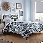 Real Simple® Sutton King Duvet Cover in Green