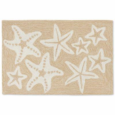 Liora Manne Capri Starfish 20 Inch X 30 Inch Indoor/Outdoor Door Mat