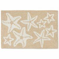 Liora Manne Capri Starfish 20-Inch x 30-Inch Indoor/Outdoor Door Mat in Natural