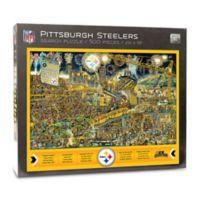NFL Pittsburgh Steelers 500-Piece Find Joe Journeyman Puzzle