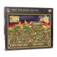NFL New Orleans Saints 500-Piece Find Joe Journeyman Puzzle
