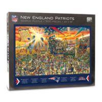 NFL New England Patriots 500-Piece Find Joe Journeyman Puzzle