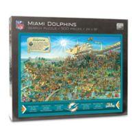 NFL Miami Dolphins 500-Piece Find Joe Journeyman Puzzle