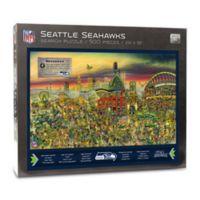 NFL Seattle Seahawks 500-Piece Find Joe Journeyman Puzzle