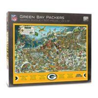 NFL Green Bay Packers 500-Piece Find Joe Journeyman Puzzle