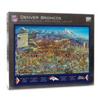 NFL Denver Broncos 500-Piece Find Joe Journeyman Puzzle
