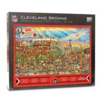 NFL Cleveland Browns 500-Piece Find Joe Journeyman Puzzle