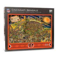 NFL Cincinnati Bengals 500-Piece Find Joe Journeyman Puzzle