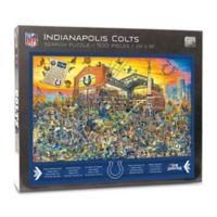 NFL Indianapolis Colts 500-Piece Find Joe Journeyman Puzzle