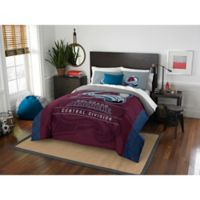NHL Colorado Avalanche Draft Full/Queen Comforter Set