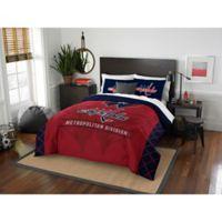 NHL Washington Capitals Draft Full/Queen Comforter Set