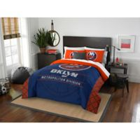 NHL New York Islanders Draft Full/Queen Comforter Set