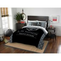 NHL Los Angeles Kings Draft Full/Queen Comforter Set