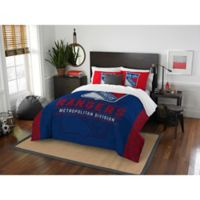 NHL New York Rangers Draft Full/Queen Comforter Set