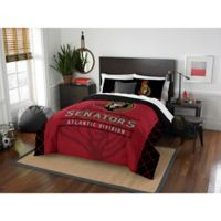 NHL Ottawa Senators Draft Full/Queen Comforter Set