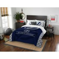 NHL Tampa Bay Lightning Draft Full/Queen Comforter Set