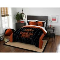 Oklahoma State University Modern Take Full/Queen Comforter Set