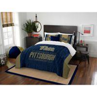 University of Pittsburgh Modern Take Full/Queen Comforter Set