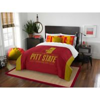 Pittsburgh State University Modern Take Full/Queen Comforter Set