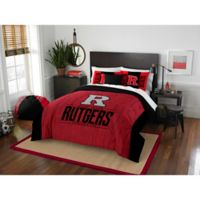 Rutgers University Modern Take Full/Queen Comforter Set