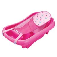 The First Years Pink Sure Comfort Deluxe Newborn-To-Toddler Tub