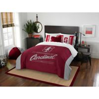 Stanford University Modern Take Full Queen Comforter Set